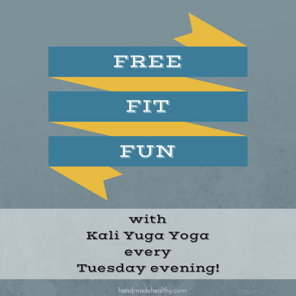 FREE FIT FUN- YOGA IN THE PARK