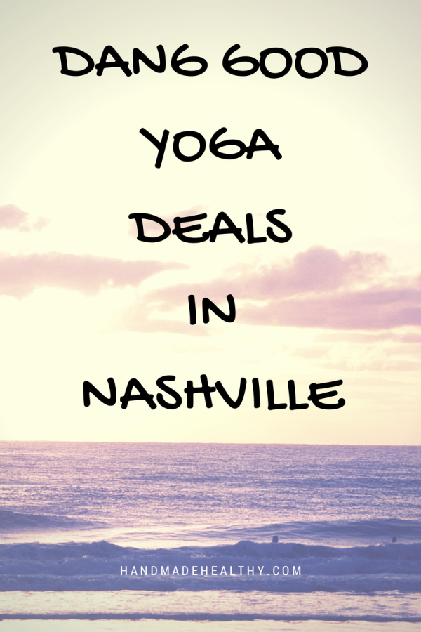 DANG GOOD YOGA DEALS IN NASHVILLE