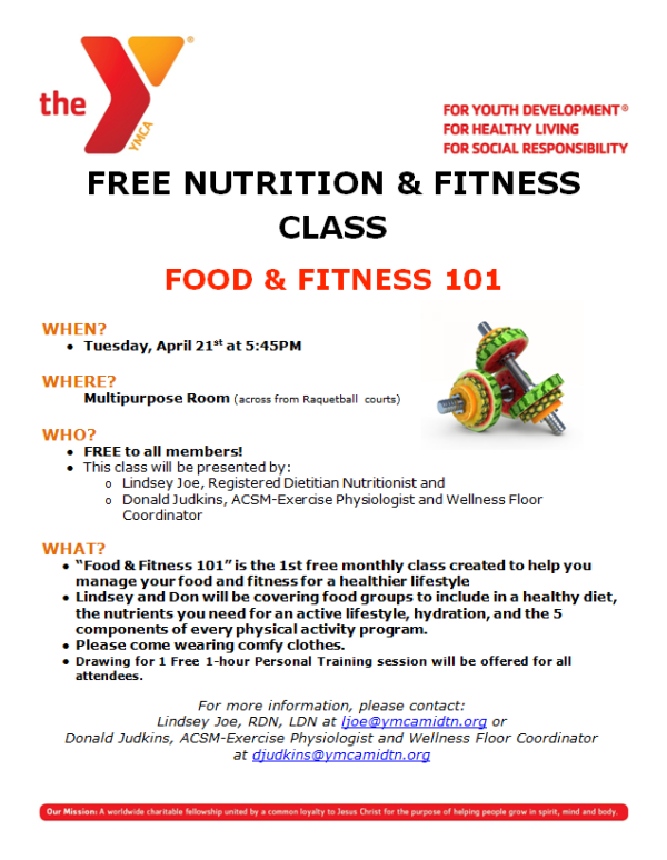 free-nutrition-and-fitness-class