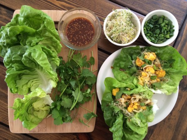 the best butter lettuce wraps