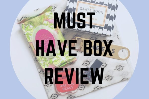 MUST HAVE BOX REVIEW