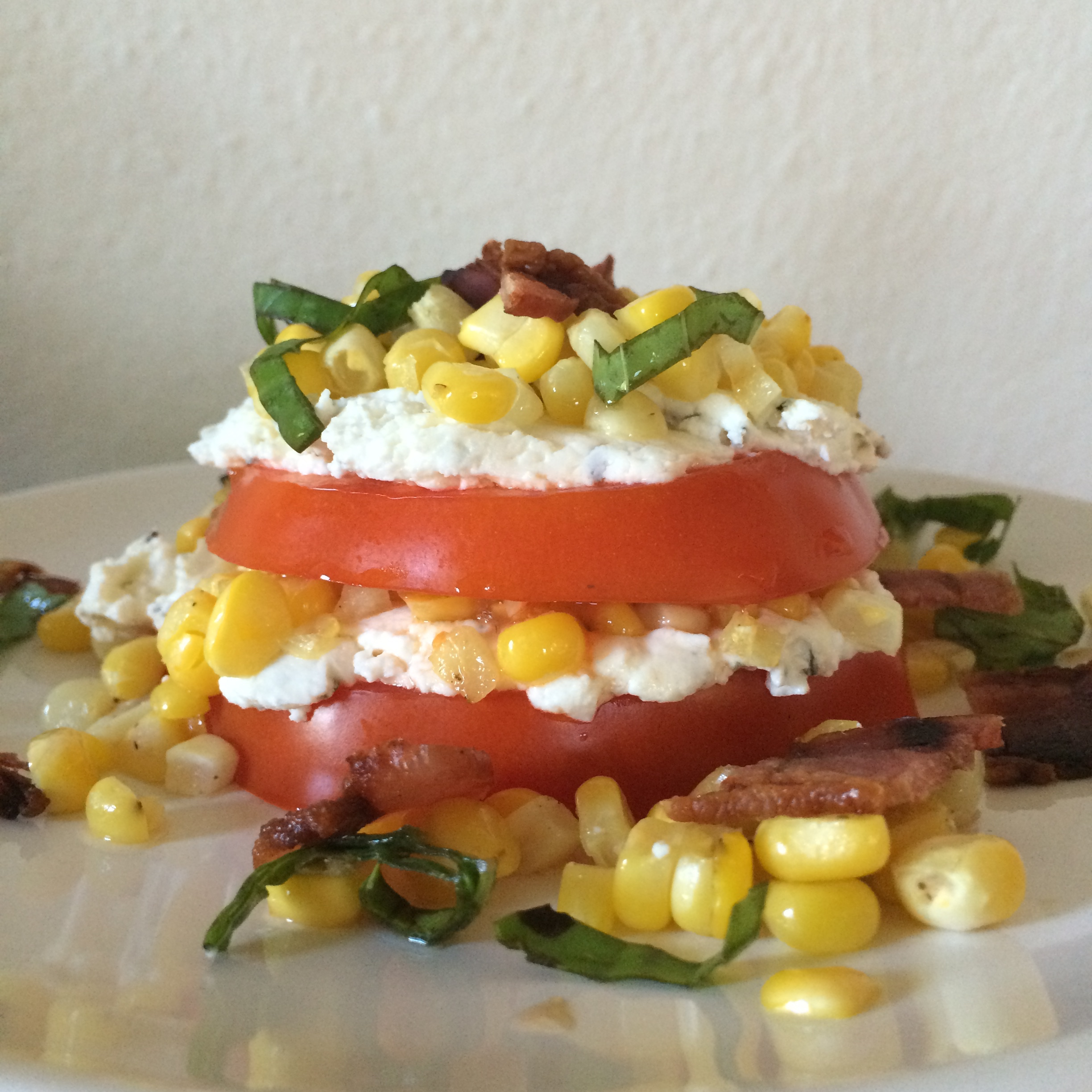 summertime tomato stacker
